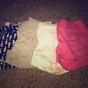 Lot of 4 Shorts - Mudd/H&M/American Eagle Size 0/1